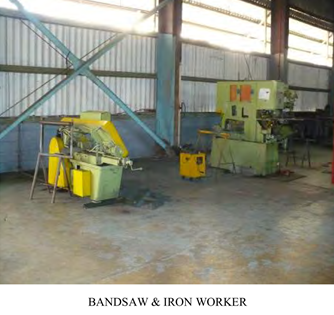 bandsaw & Iron Worker
