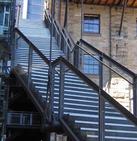 Metal Stairs