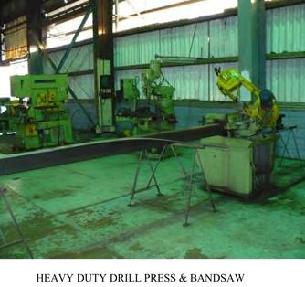 Heavy-duty  drill press & bandsaw