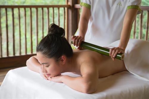 Vietnamese Bamboo Massage