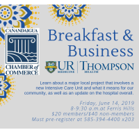 Breakfast & Business, UR Medicine Thompson Health