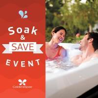 Soak & Save!  Spa & Patio Furniture Event at the Civic Center