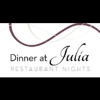 Dinner at Julia's