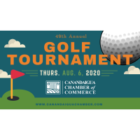 Cancelled: 49th Annual Canandaigua Chamber of Commerce Golf Tournament: August 6, 2020