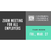 Chamber Zoom Meeting for All Employers to Attend