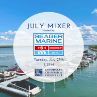 July Mixer hosted by Seager Marine