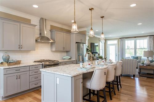 Cottages At Canandaigua Model Kitchen