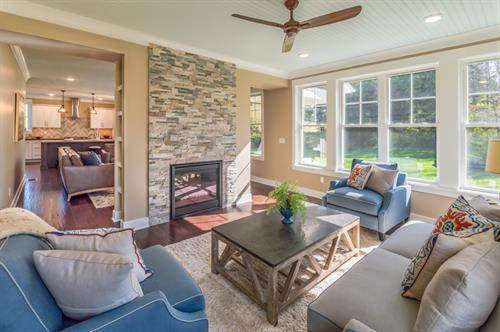 SouthGate Hills Model Home Sunroom