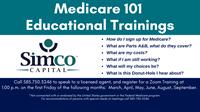 Medicare 101 Educational Trainings on Zoom