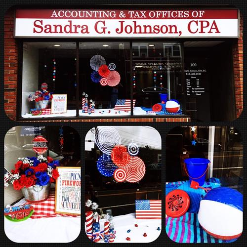 Feeling patriotic at SGJ CPA