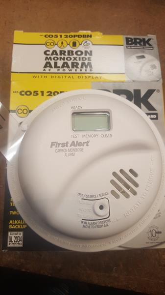 Hardwired CO Alarm w/ Display