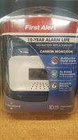 CO Alarm w/ 10 year Battery