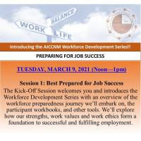 Workforce Development Series: Session 1