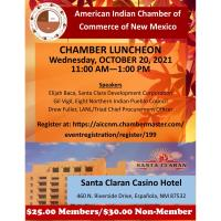 AICCNM Monthly Chamber Luncheon-October 2021