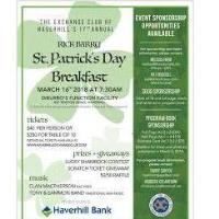Haverhill Exchange Club's 19th Annual Rick Barry St. Patrick's Day Celebration