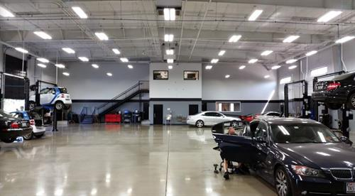 We pride ourselves on having one of the nicest garages in town.