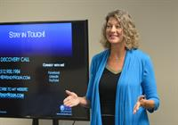 Speaking at Caliber Home Loans monthly Lunch & Learn