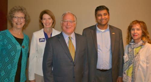 With Senator Kirk Watson