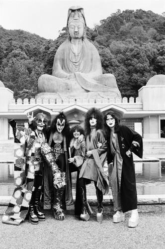 In Japan touring with KiSS