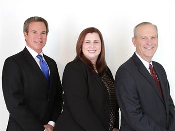 From left: Mike Bintliff, Elisabeth Uhl, Tom Uhl