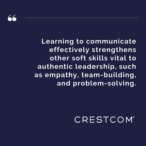 The most important skill of great leadership open and clear communication!
