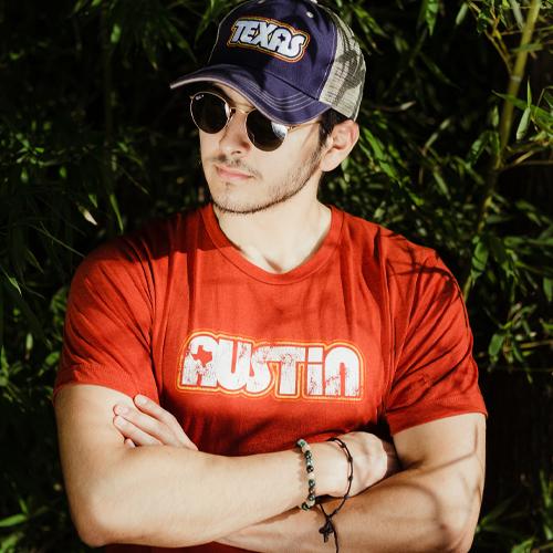 Retro Austin Unisex T-shirt - Retro Texas Trucker Cap