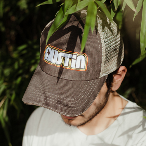 Retro Austin Trucker Cap