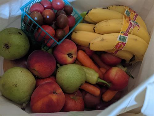 Fresh produce to be delivered