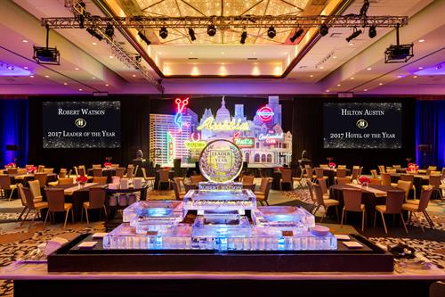 Meeting Room - Hotel of the Year Presentation Set
