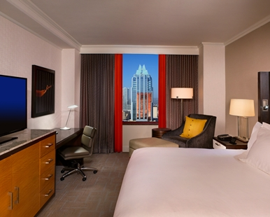 Guest Room with Skyline View