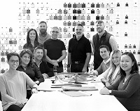 Our incredible team led by Bob Williams.  These are the talented people who design our furnture.