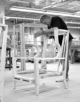 Attention to detail and pride in our work is why we can offer a lifetime warranty on our upholstery frames, cushions and springs.