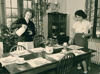 House mothers were the backbone of our organization when we started in 1917
