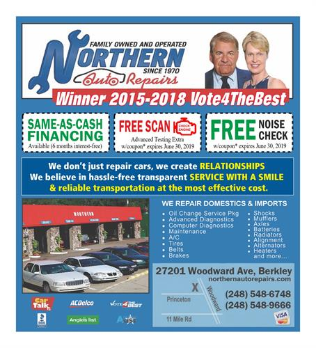 Voted Best Auto Repair by Vote4theBest