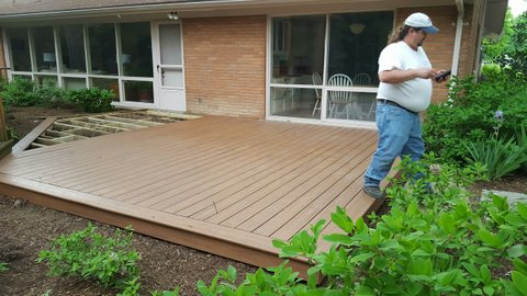 New Trex Deck in Troy