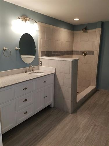 Added Bathroom in Royal Oak Basement