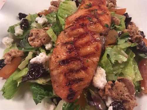 Salmon Apricot Salad