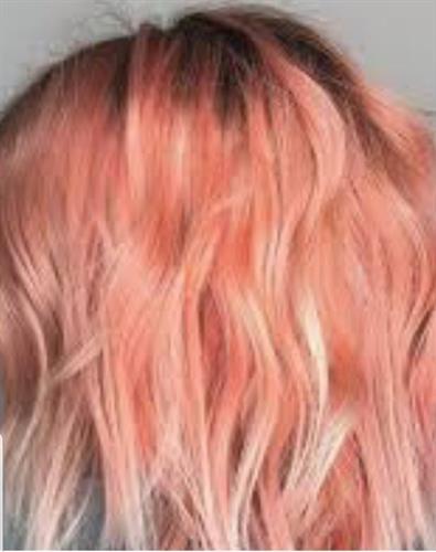 Coral Peachy Pink!