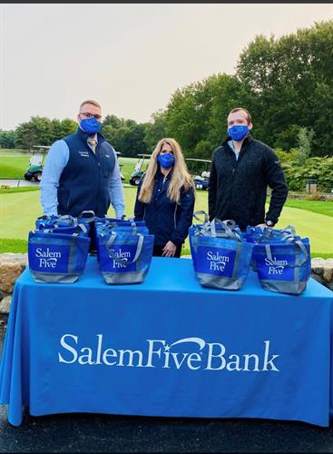 Salem Five supports the Tewksbury Habitat for Humanity at their annual golf outing hosted at the Tewksbury Country Club