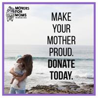 Movers for Moms Donation Drive to support Womens Lunch Place  News Release: 2/27/2020