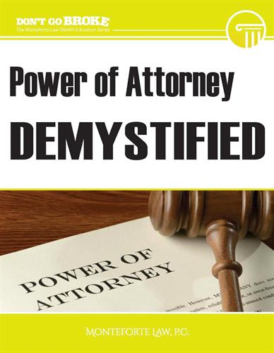 Learn the reasons why you might want to have a Power of Attorney in place!
