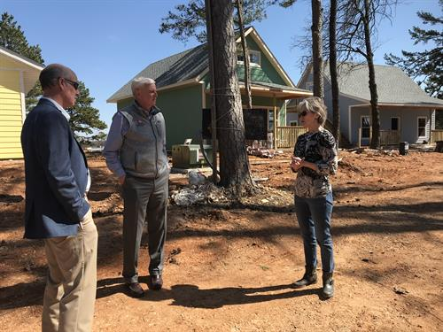 Congressman Steve Womack visits ECHO Village
