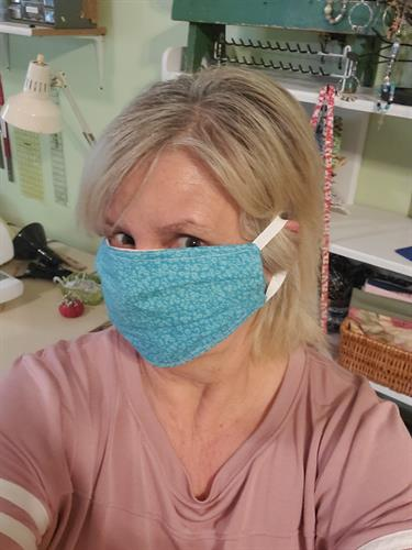 Homemade Mask for Community members in need!