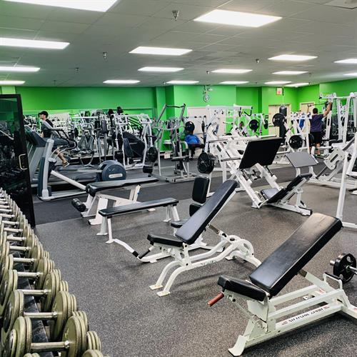 24-Hour Fitness Area