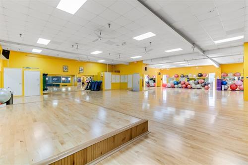 Studio Room - group instructed classes area