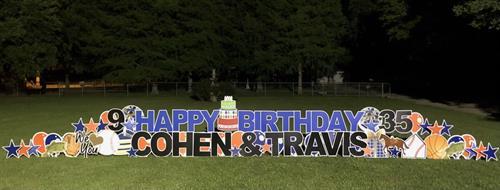 Double name Birthday Celebration