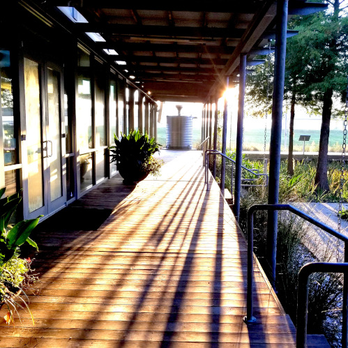 St. Landry Parish Visitor Center, Sunrise