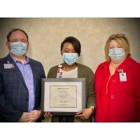 Faydra Allen, MHA, Physician Practice Administrator  Receives ACHE Regent's Award