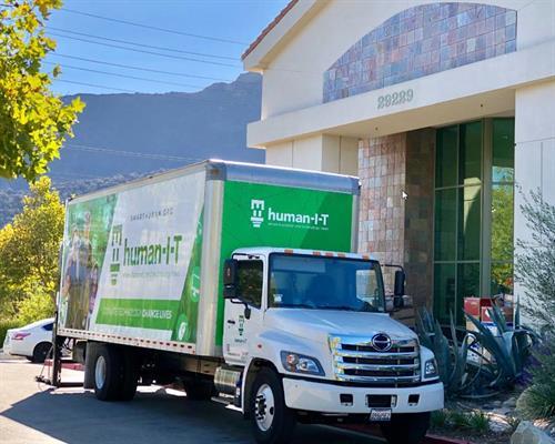 Truck in Agoura Hills