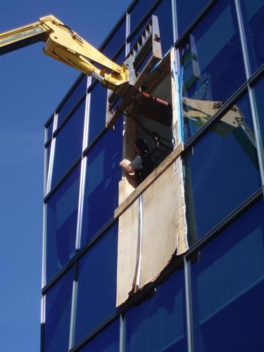 Crane move of equipment